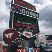 Battle at Bristol countdown clock