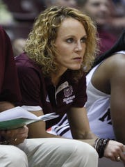 Jackie Stiles is in her fourth season as an assistant coach with the Lady Bears.