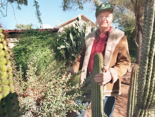 Former Baker Nursery owner Jim Baker in December 1998.