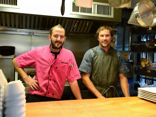 14 Global Head Chef Kevin Daughaday along side Sous