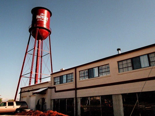 THE FACTORY, FRANKLIN WATER TOWER