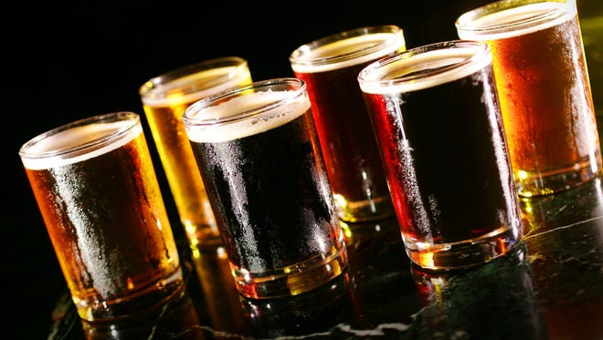 Some of the first beers were made using fermented breads in Egypt.