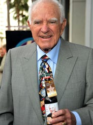 Judge Joseph Albert Wapner received a star on the Hollywood