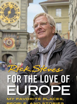 """During pandemic, travel expert Rick Steves is at home recording the audio version of his """"For the Love of Europe"""" and trying new things, like kayaking."""