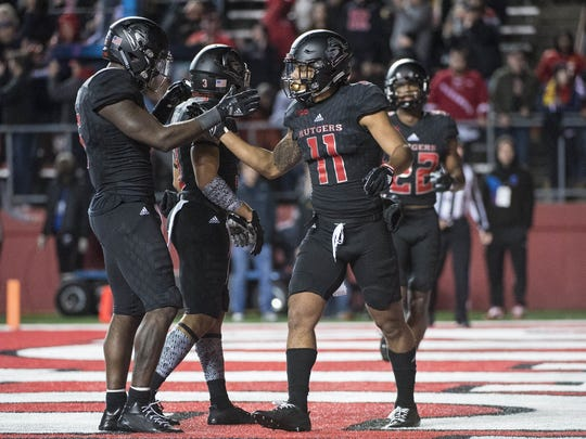 Rutgers is now 4-5 on the season after winning just one game in 2016.