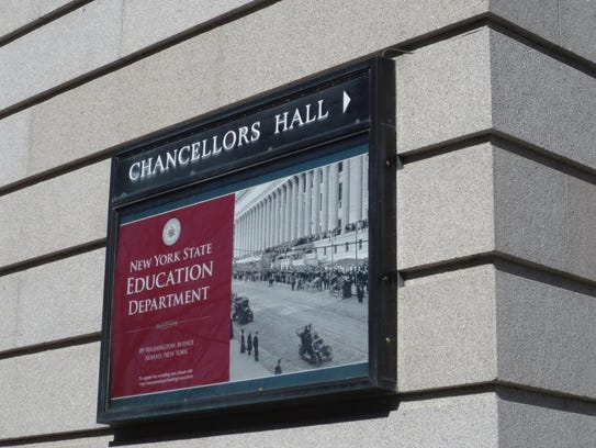 New York State Education Department building in Albany