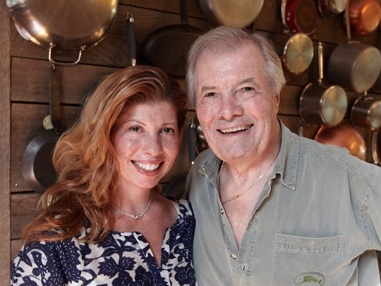 Claudia and Jacques Pepin.