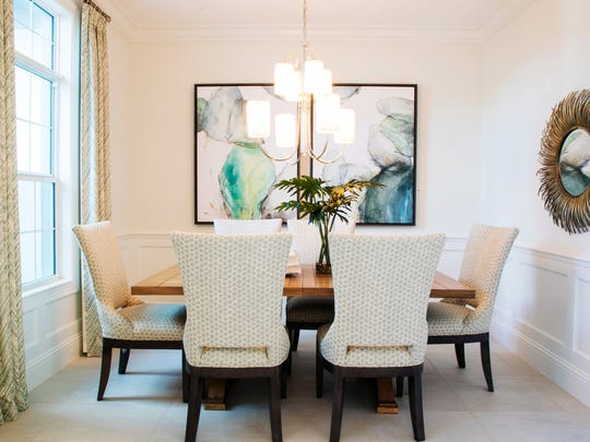 Dining area of the Corleone model by Stock at Hidden