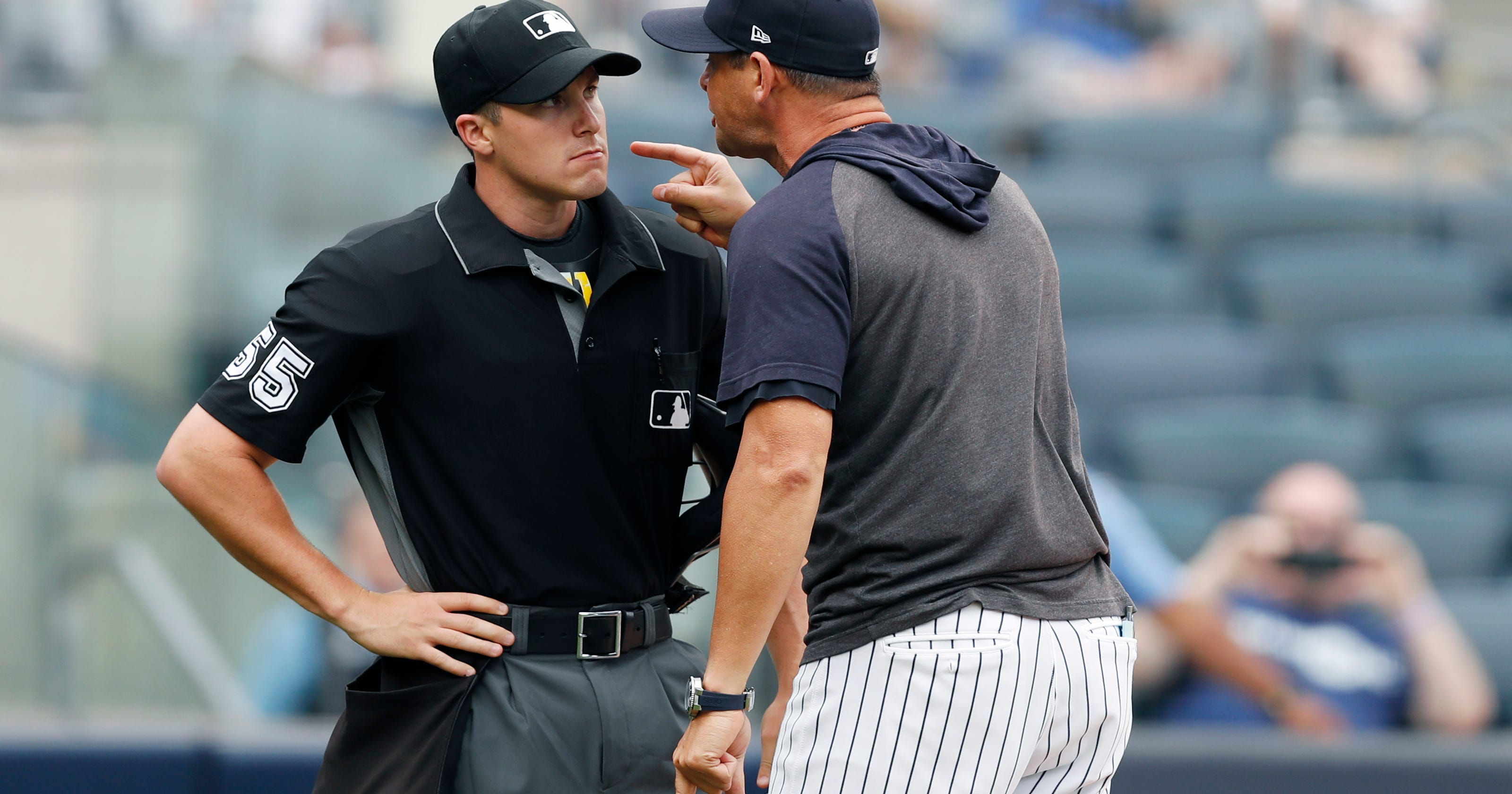 Boone dubs Yanks 'savages' during rant in 6-2 win over Rays