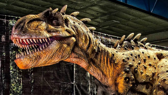 Jurassic Tour will take place from 10 a.m. to 9 p.m. Saturday and 10 a.m. to 7 p.m. Sunday at the El Paso County Coliseum, 4100 E. Paisano.