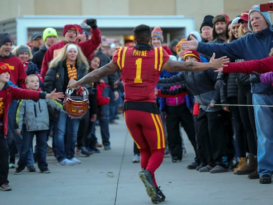 Iowa State defensive back D'Andre Payne is a big fan of true freshman Mike Rose, who may be the team's new starting middle linebacker.
