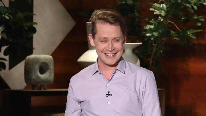 Macaulay Culkin keeps  Ellen DeGeneres from being 'Home Alone' by appearing on her talk show Monday.