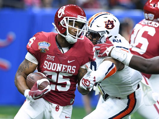 Oklahoma running back Joe Mixon is one of the more