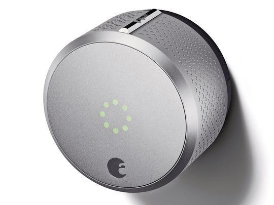 The August Smart Lock offers electronic key entry and