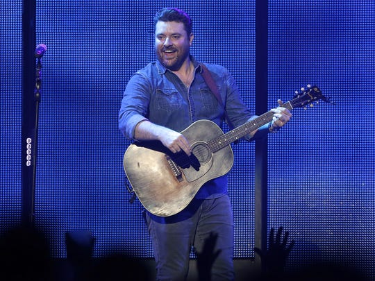Chris Young played a 55-minute set before Jason Aldean took the stage at the Resch Center. Kane Brown and Deejay Silver were also support acts on the bill.