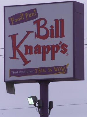 The last-generation Bill Knapp's sign on Capital Avenue.