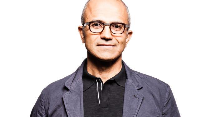 Satya Nadella heads Microsoft's cloud and enterprise businesses.