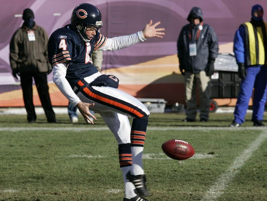 Chicago Bears punter Brad Maynard