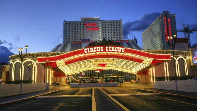 Circus Circus Hotel and Casino in Las Vegas.