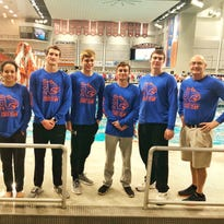 Central's Hill takes 8th in 50 free at state meet