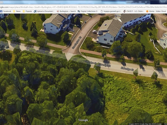 A Google map screen shot shows where Eldredge Street
