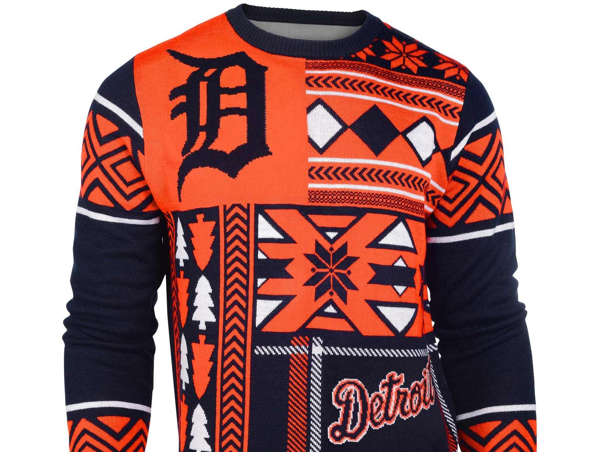 Ugly Christmas sweaters: Detroit sports edition