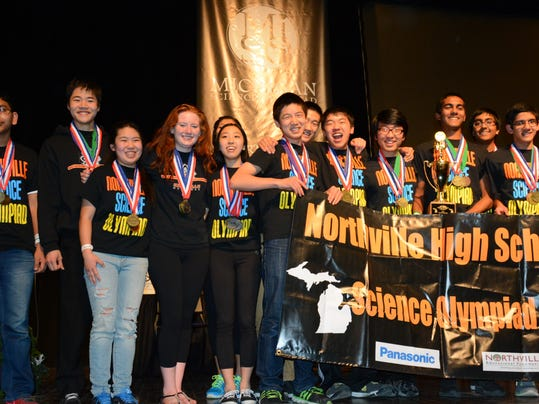 NRO 1 Northville High Science Olympiad wins state.JPG