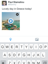 Twitter's new in-app video feature