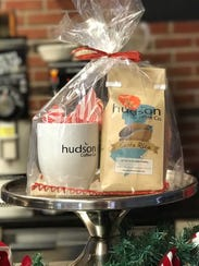 A holiday gift set from Hudson Coffee Co.