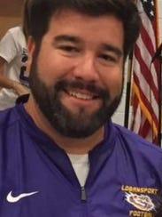 Logansport coach Kyle Creech