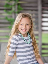 Leah Hansen recently suffered what appears to be a spinal cord stroke - a very rare condition, especially for a 9-year-old.