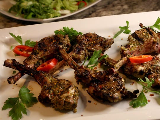 Mint and Cumin Lamb Chops