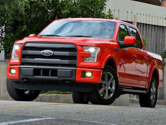 2015 Ford F-150. Picture received Oct. 2014 from Ford Motor Company