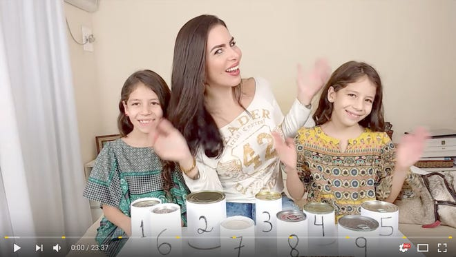 Mila Diverte started on YouTube in January, but already has 487K subscribers.