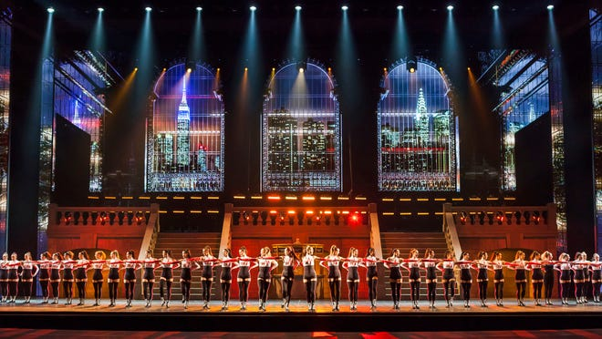 """The Rockettes are front and center in """"New York Spring Spectacular"""" at Radio City Music Hall."""