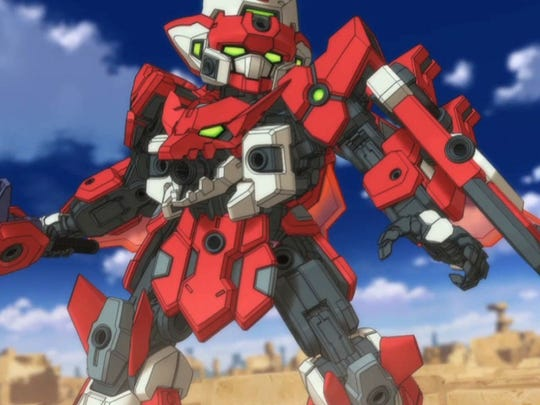 """""""Tenkai Knights: Brave Battle"""" for the 3DS is based on the Japanese line of kids' toys."""