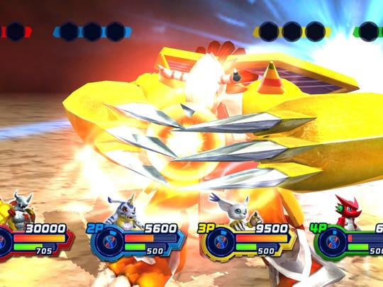 """Digivolving"" allows your character to evolve into a more powerful version for a limited time and dispense extra damage."