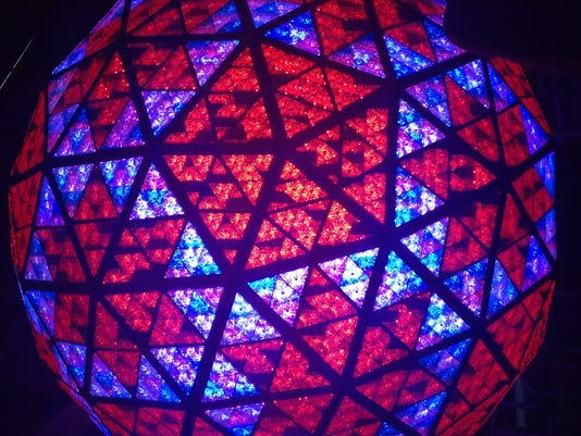2015 Times Square Ball Drop