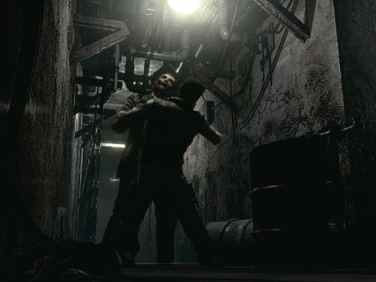 """Tight spaces and limited resources make zombie encounters potentially deadly in the """"Resident Evil HD Remaster"""" game."""
