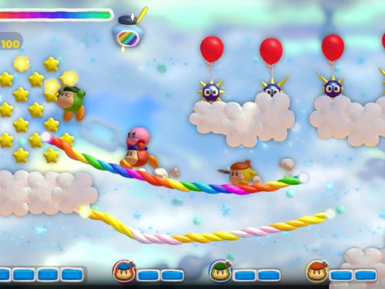 Co-op play lets your bring up to three Waddle Dees