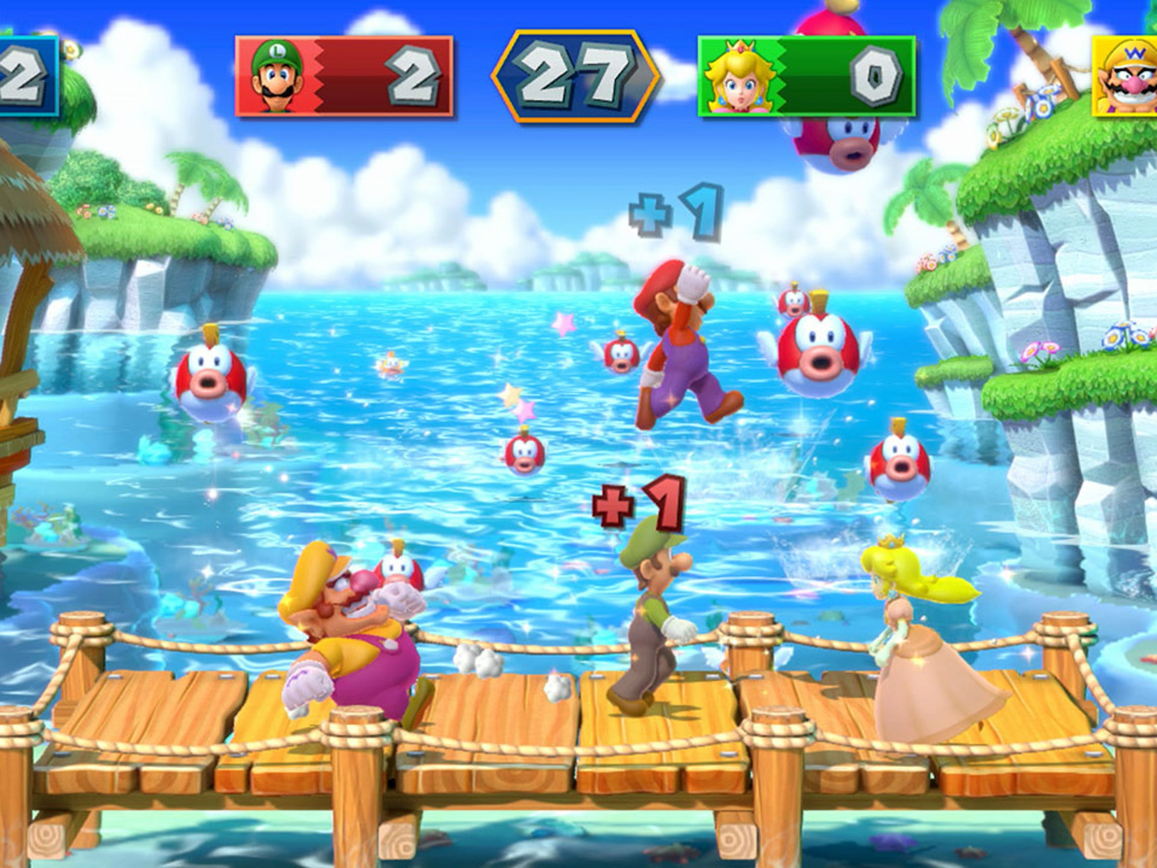 """""""Mario Party 10"""" for the Nintendo Wii U features more than 70 mini-games."""