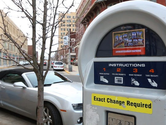 Many parking pay stations are available to conveniently pay for parking. Parking issues throughout the city are looked at as some business owners complain there is a shortage.Asbury Park, NJFriday, March 13, 2015Doug Hood/Staff Photographer@dhoodhood