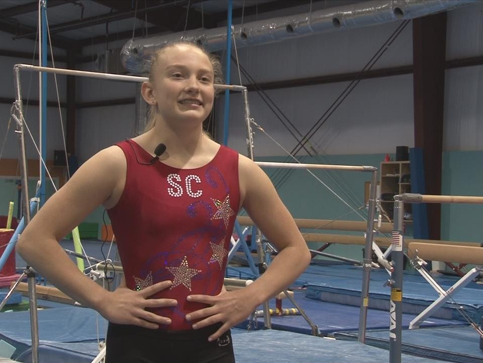Chapin gymnast Brooke McAffee, 15, will compete at the nationals nextw eek in Kissimmee, Fla.