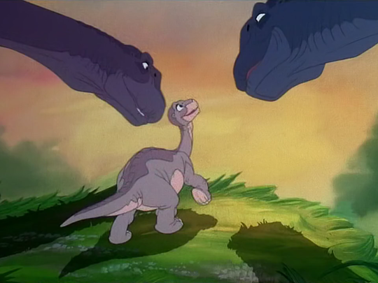 """""""The Land Before Time"""" features a parental death scene"""