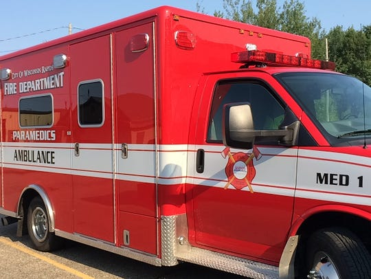 A look at the new, $195,000 ambulance for Wisconsin