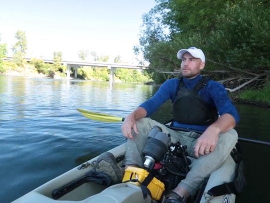 "Jeremy Monroe is the director of the film ""Upriver,"" which celebrates restoration efforts on the Willamette River and will be shown at Riverfront Park in Salem on Sept. 20."