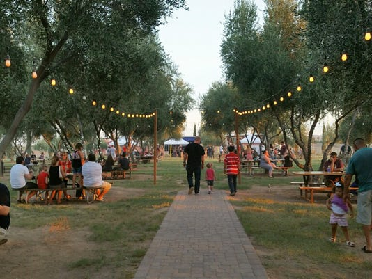 Garlic Fest at Queen Creek Olive Mill