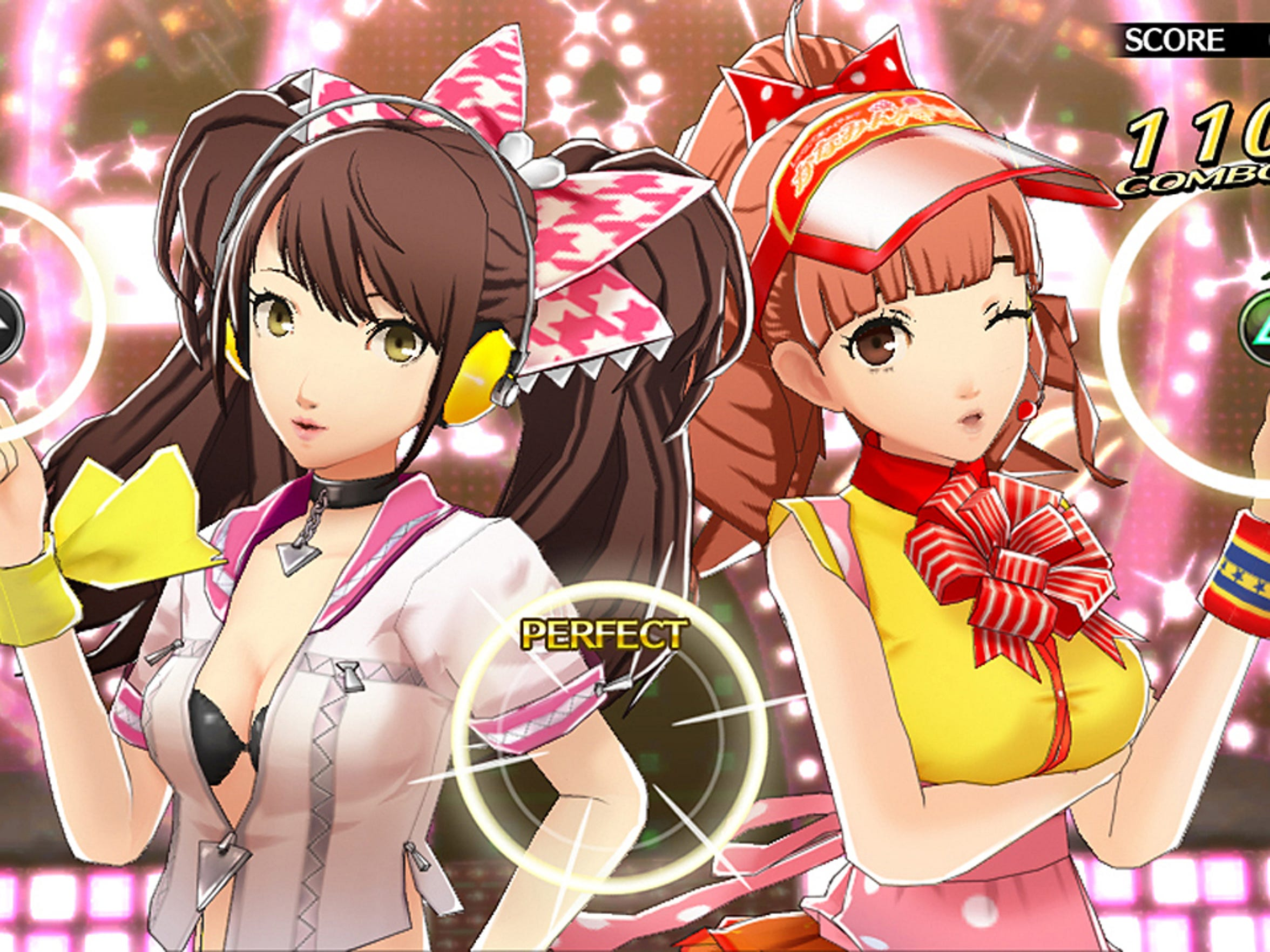"Slick presentation is a strong point for ""Persona 4: Dancing All Night"" on the Playstation Vita."