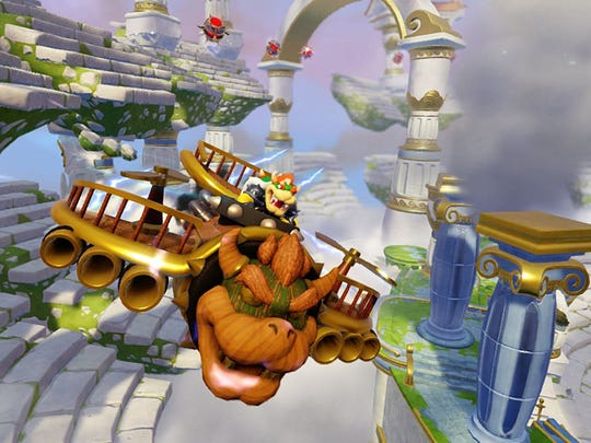 The popular toy-based video game series returns with vehicles and guest appearances by Bowser and Donkey Kong for Nintendo systems in Skylanders Superchargers.