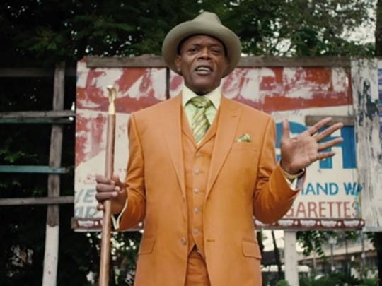 "Samuel L. Jackson plays Dolmedes, a one-man Greek chorus who narrates the action of ""Chi-raq."""